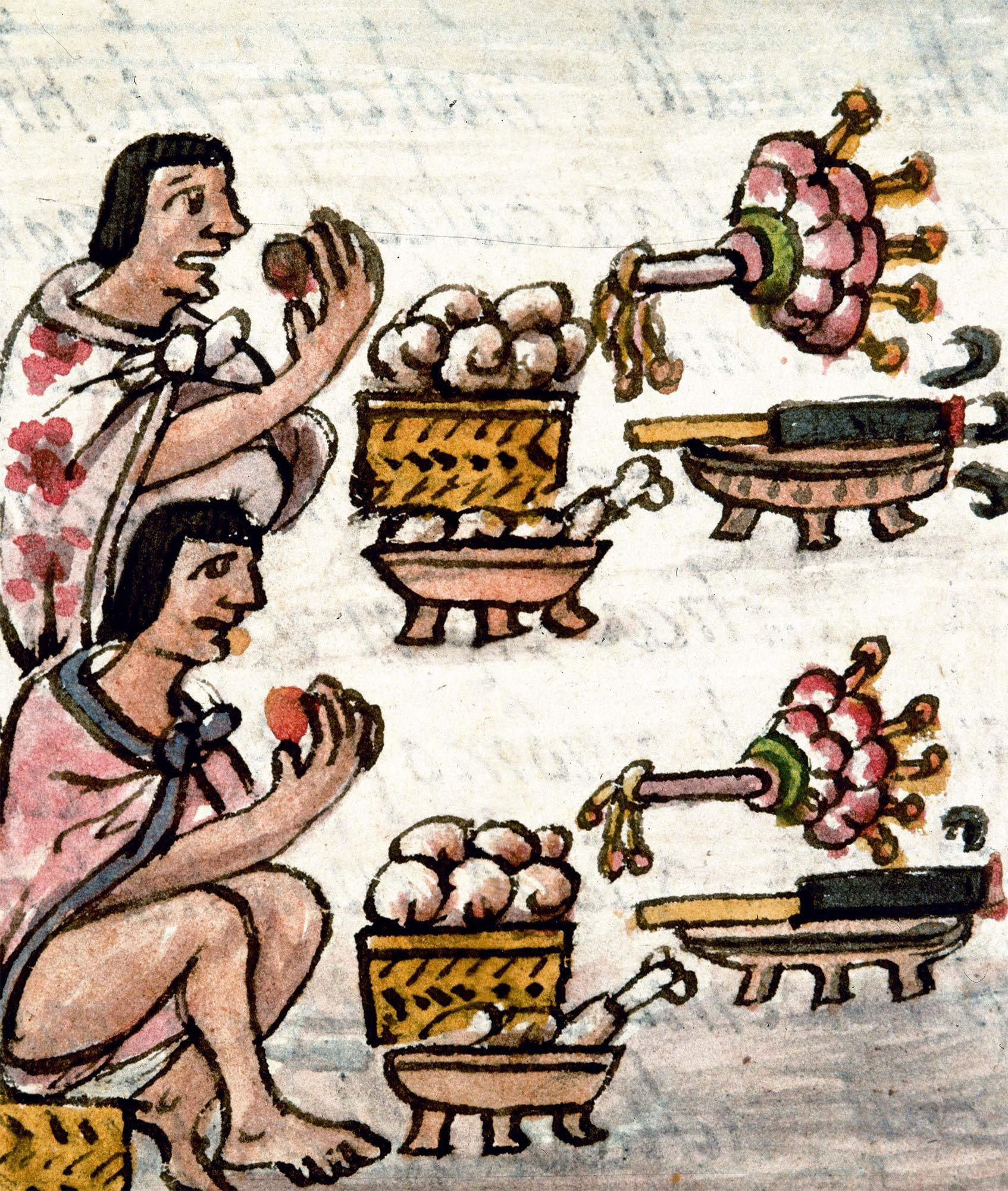 136 Aztecas 2. Una comida abundante y variada