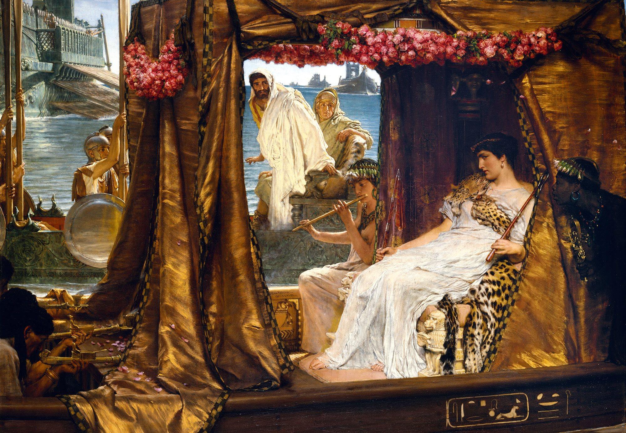 Antonio y Cleopatra, la entrevista de Tarso