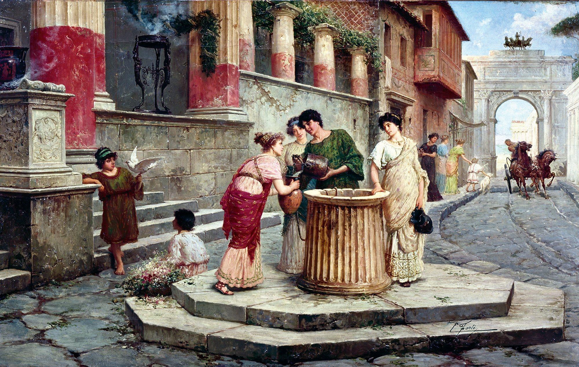 Pompeya La Casa De Marco Lucrecio Front N Altmarius # Muebles Pompeya