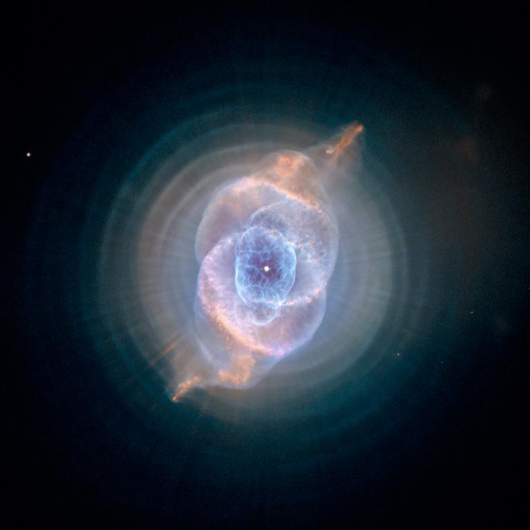 Una estrella agonizante