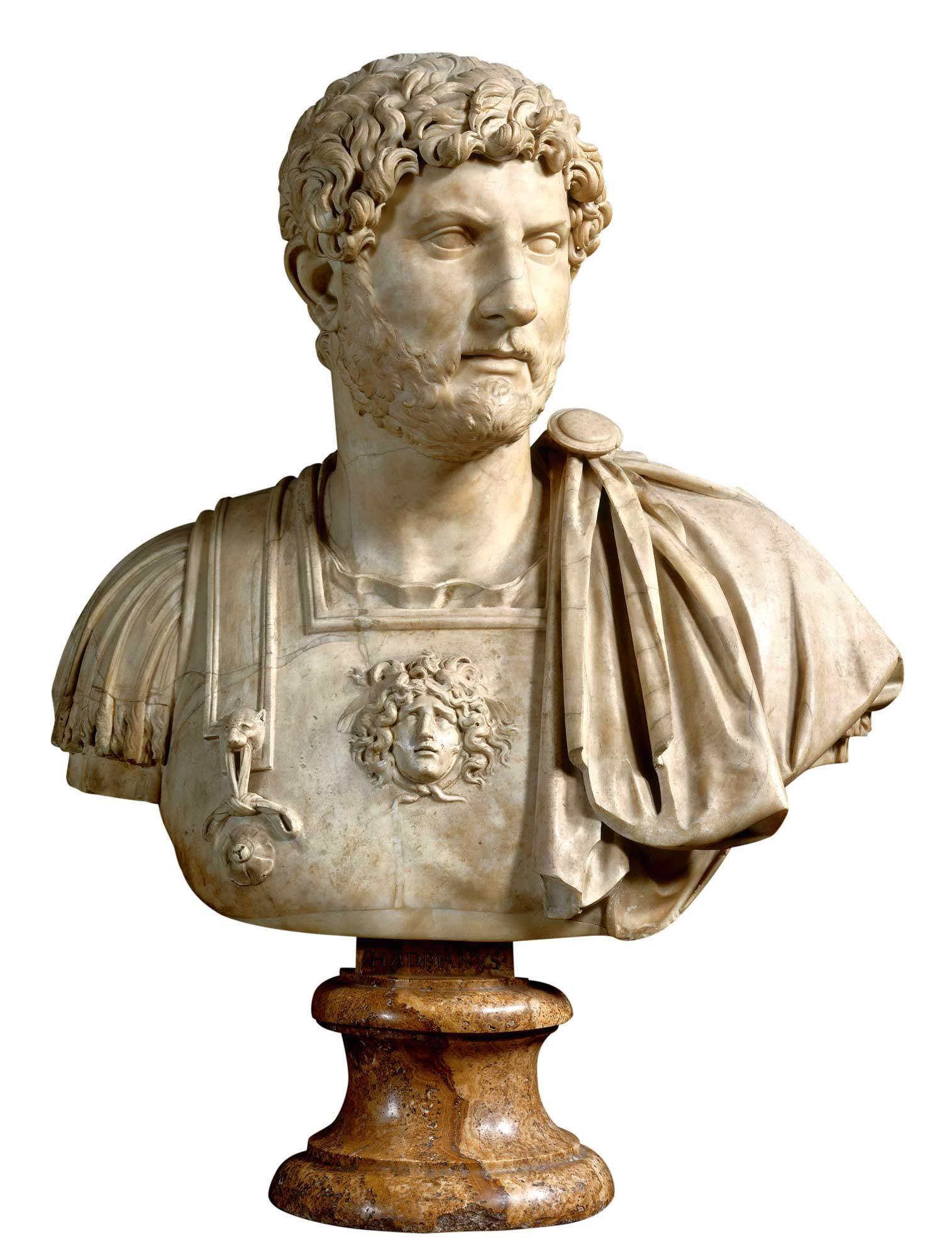 Resultado de imagen para Fotos de Publio Elio Adriano, emperador romano