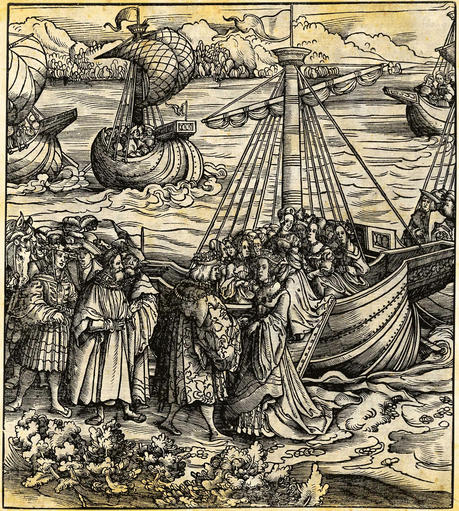 140 Juana 3. Llegada a Flandes