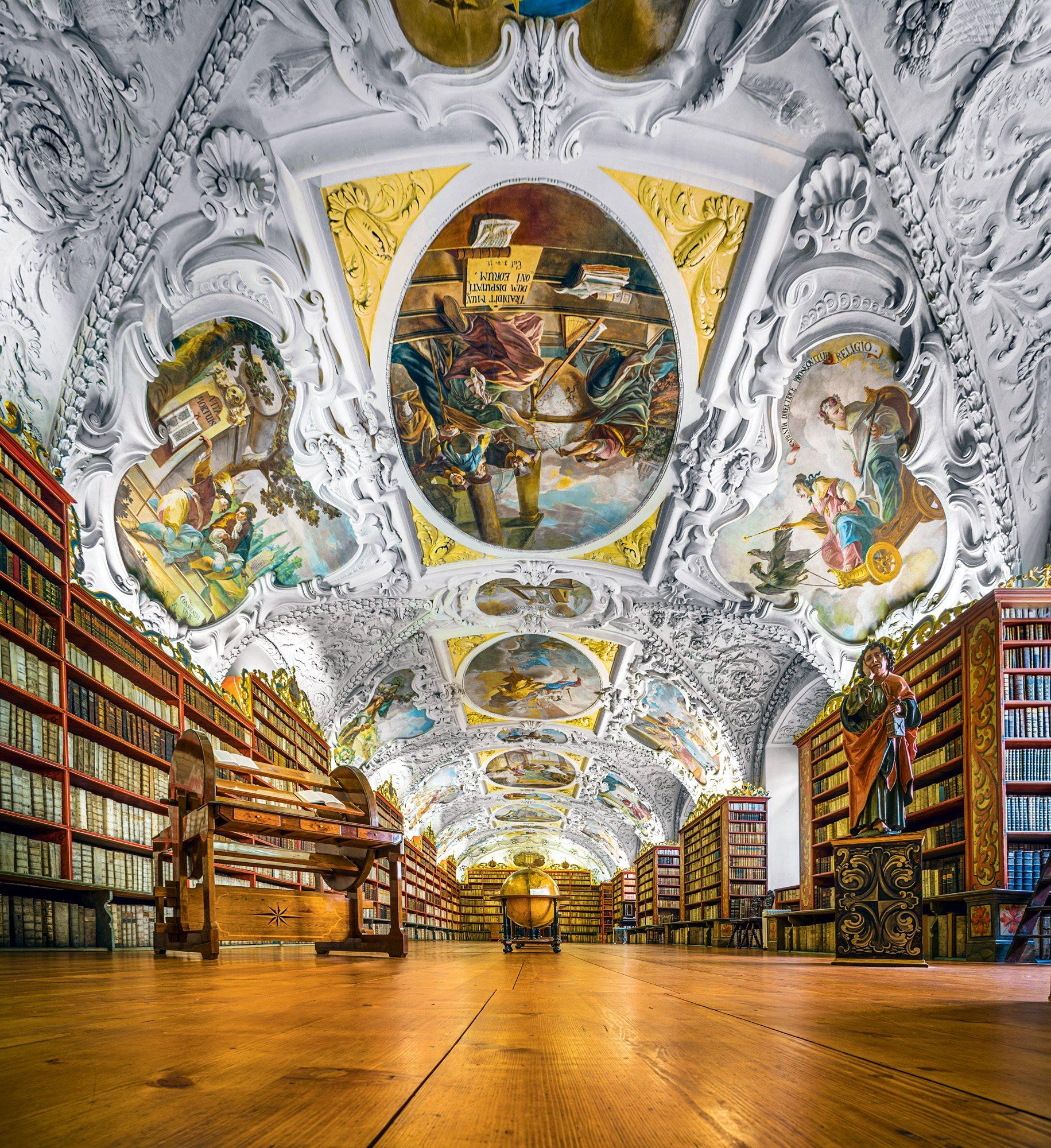 Strahov Monastery Library. Strahov