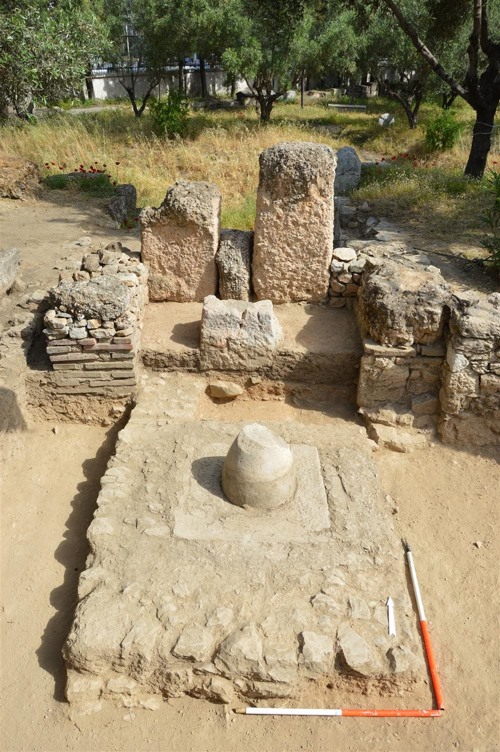 Descubren un antiguo oráculo en el centro de Atenas