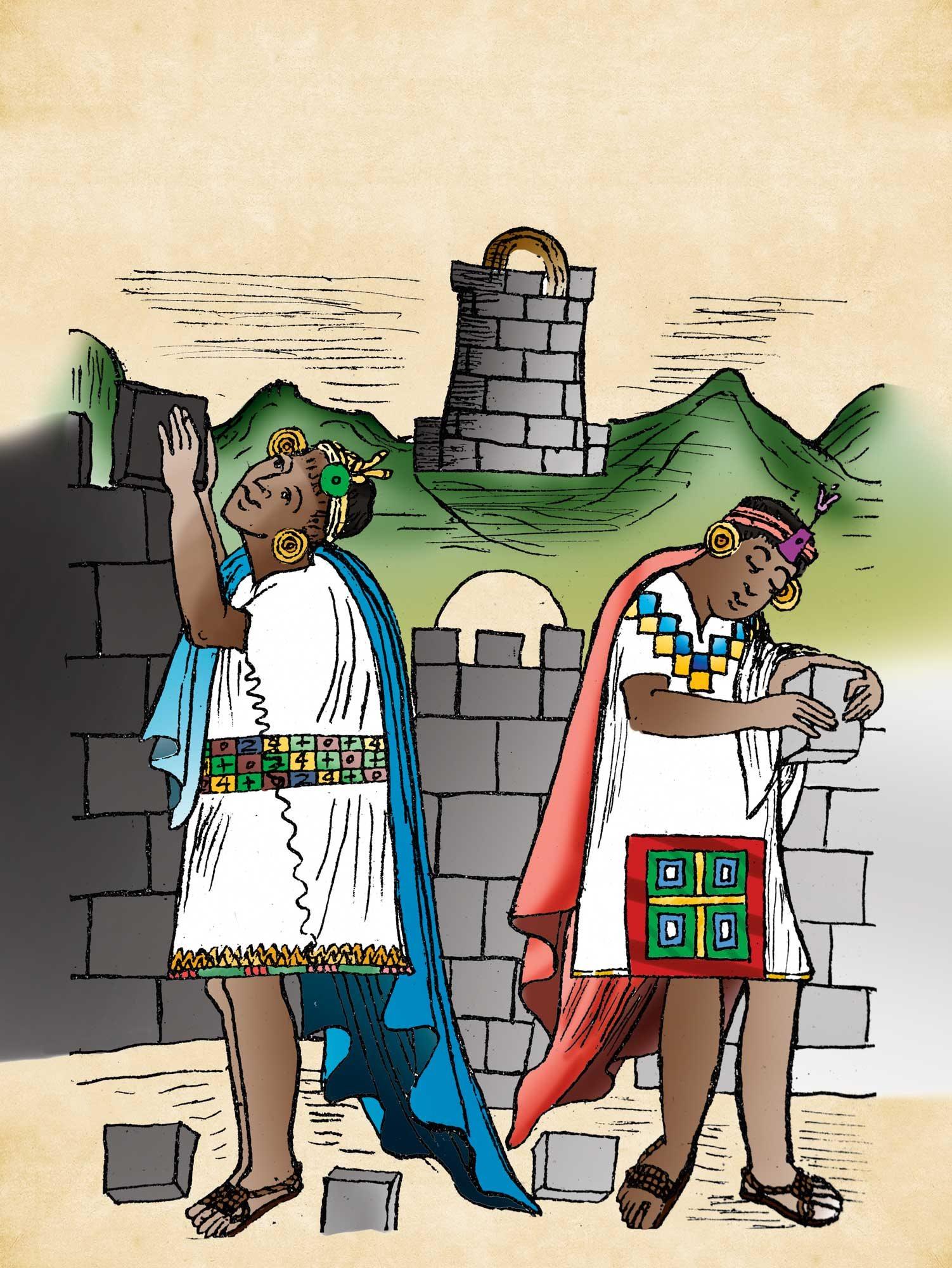 141 Incas 5. Grandes constructores