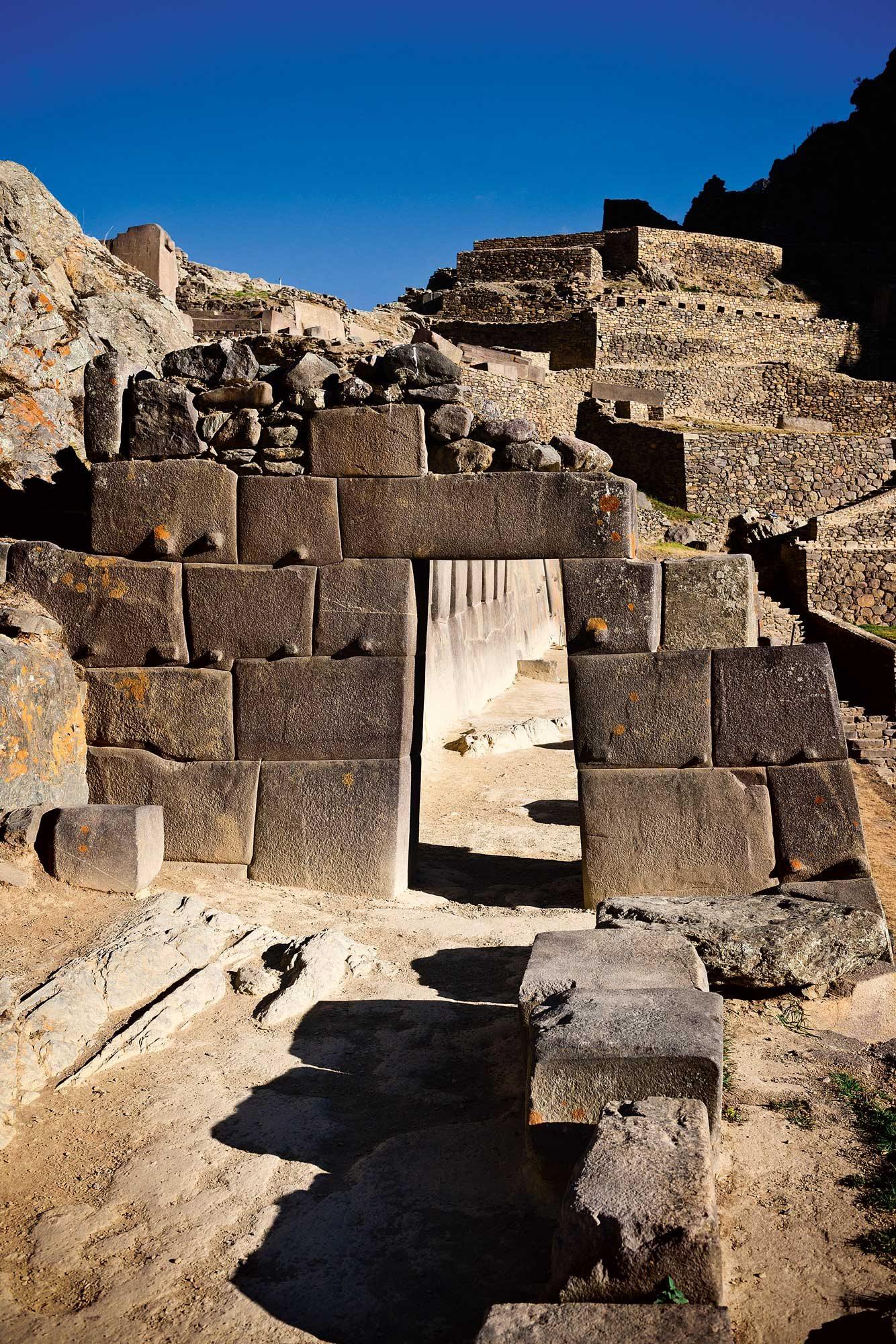 141 Incas 6. La ciudadela de Ollantaytambo