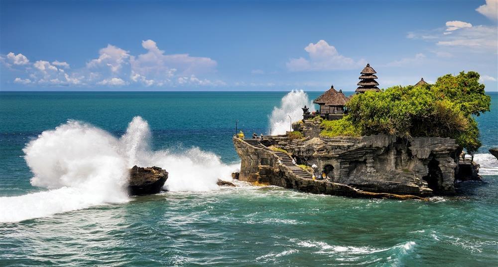 Tanah Lot. Una protección frente al mar