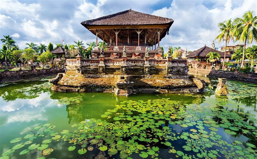 Klungkung. El Palacio de Klungkung