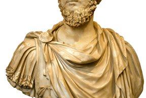 El coemperador de Marco Aurelio