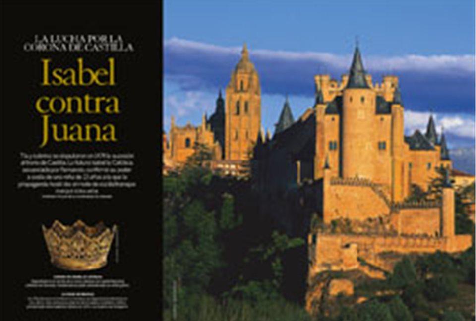 Isabel la Catlica contra Juana la Beltraneja