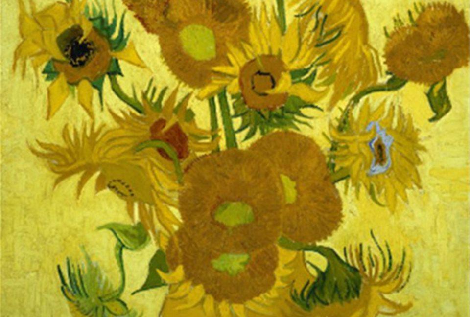 Resultado de imagen de girasoles de Van Gogh