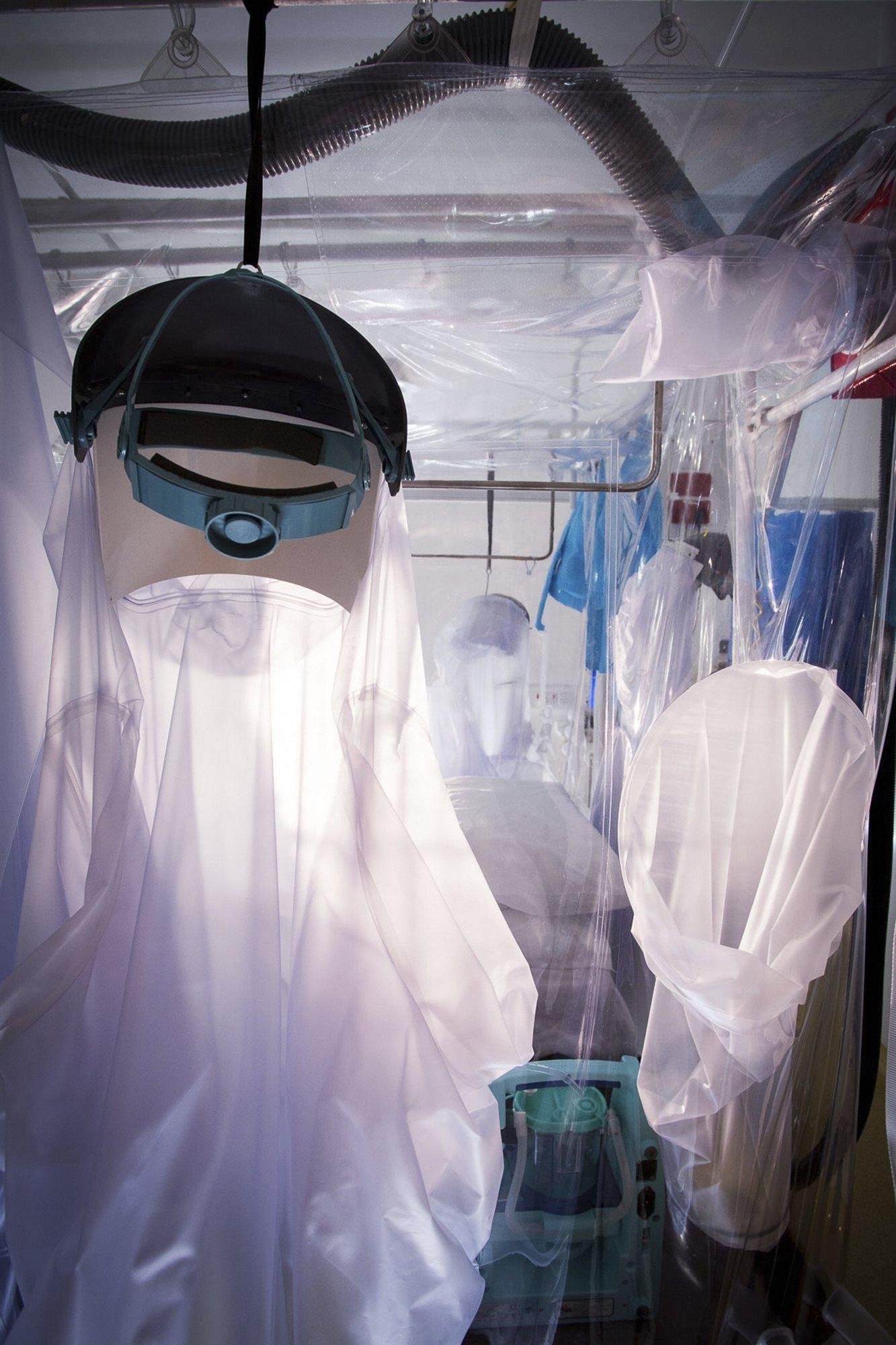 Unidad de contención de enfermedades contagiosas