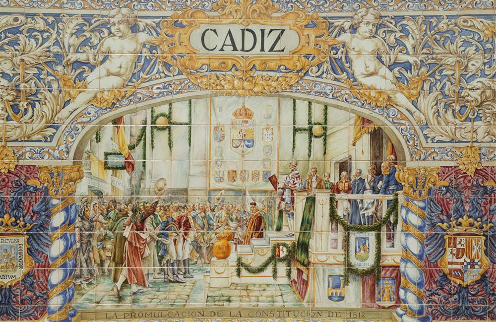 Promulgación de la Constitución de 1812 en Cádiz