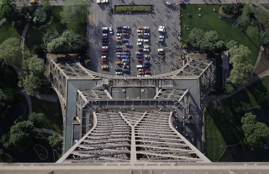 Torre Eiffel, París. La estructura más alta del planeta (durante unos años)