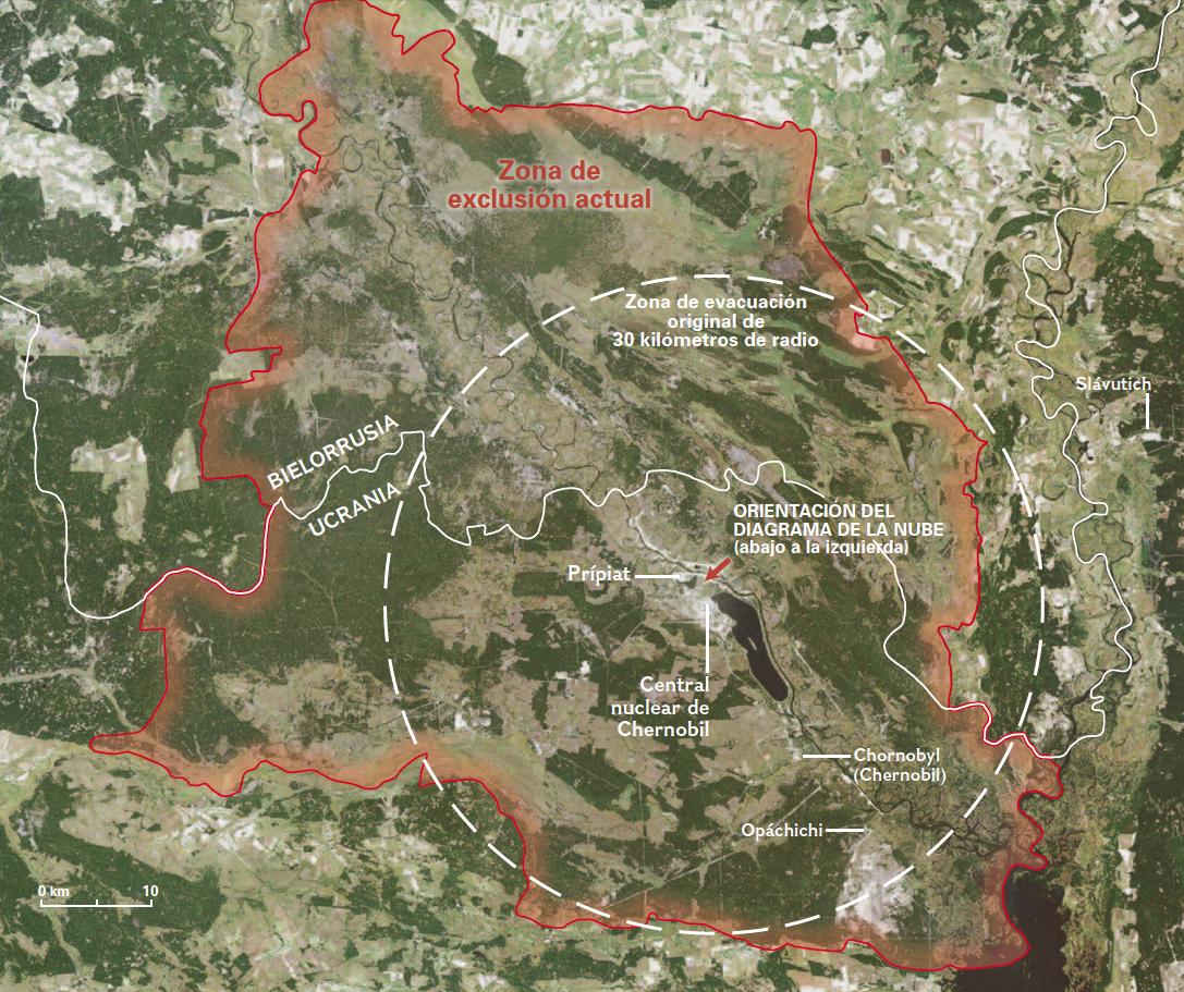 La mortífera huella de Chernobil