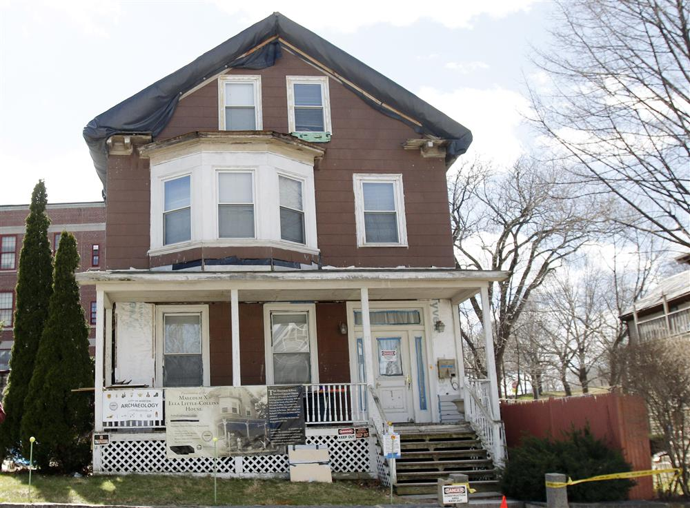 la casa de malcolm x en boston esconde restos de poca