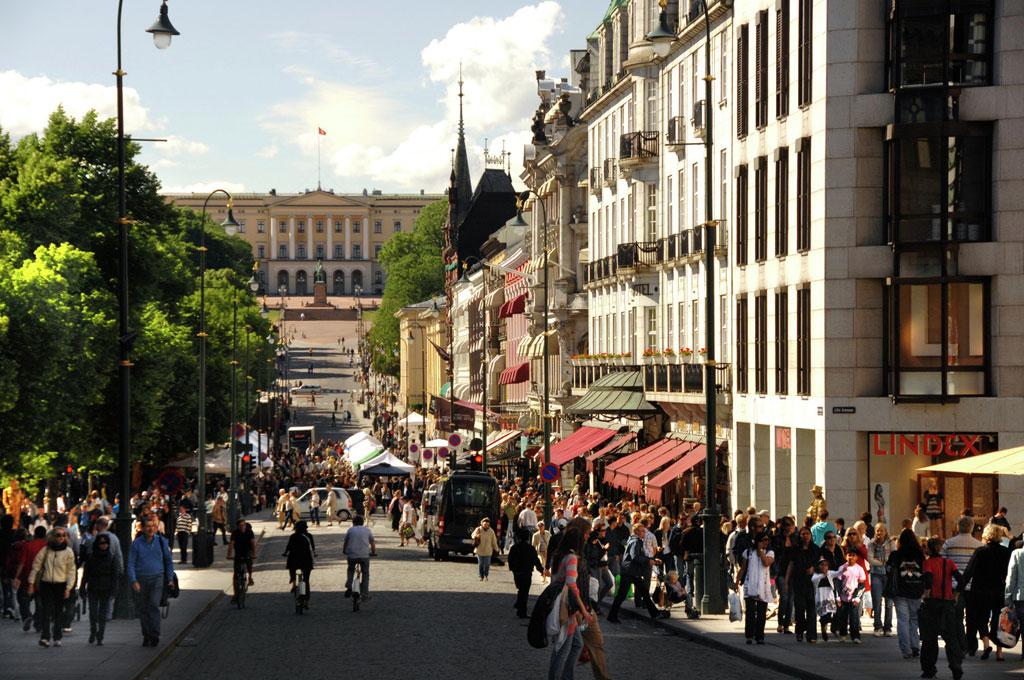 Karl Johans Street, Oslo