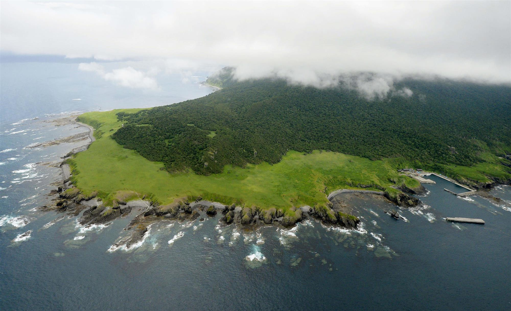 Península de Shirekoto, Japón