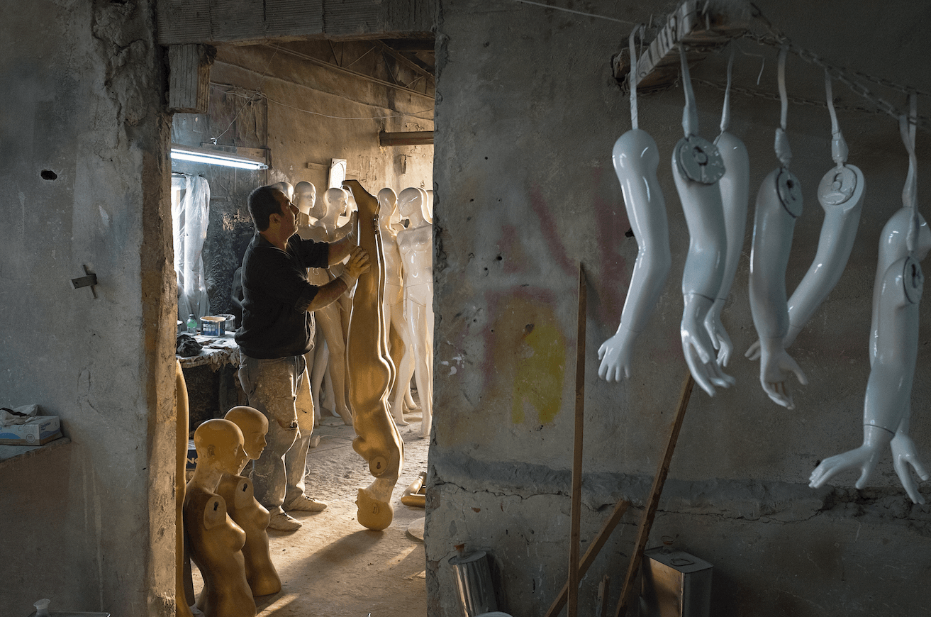 """The Mannequin Factory"". Istanbul, Turkey, 2016"