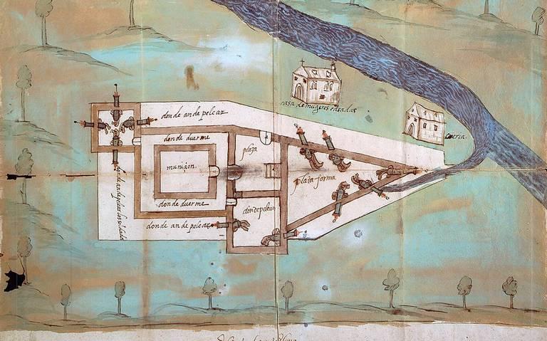 AionSur sanmarcos1_a2c4efd5 Localizan en EEUU un fuerte de la ciudad de Santa Elena donde vivieron vecinos de Marchena, Paradas y Arahal Carmona Cultura Marchena Osuna Paradas Provincia