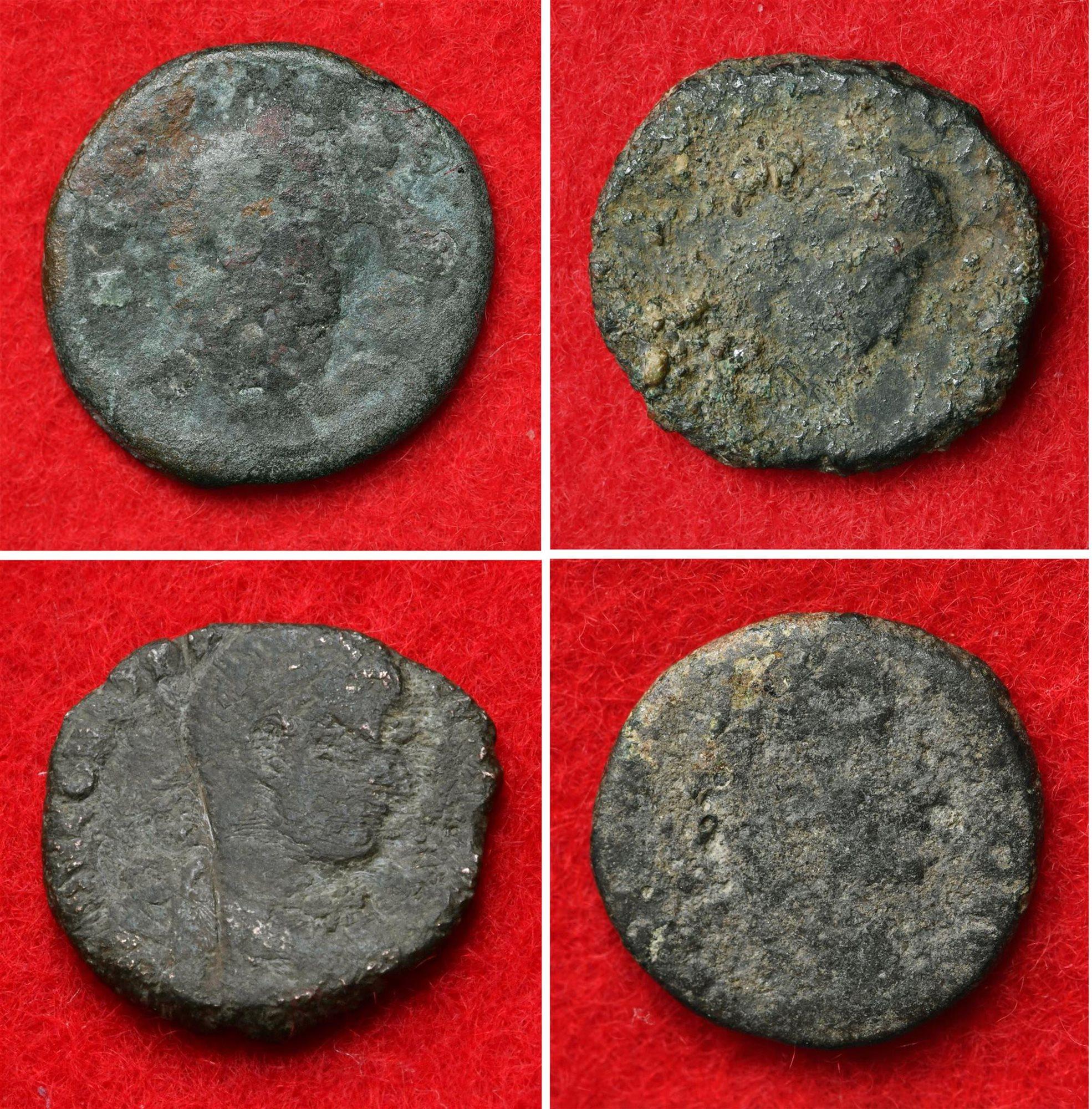 Encuentran 4 monedas romanas en un castillo medieval japonés