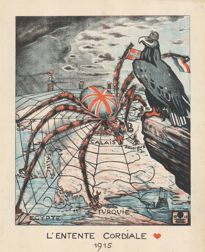 L'Entente Cordiale, 1915