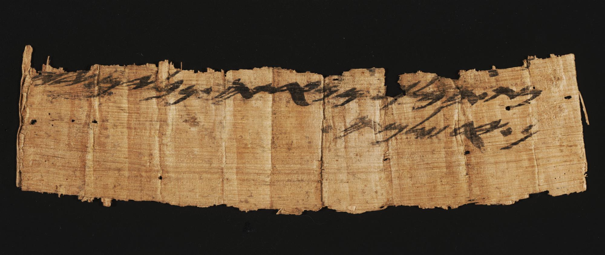 Fragmento de papiro