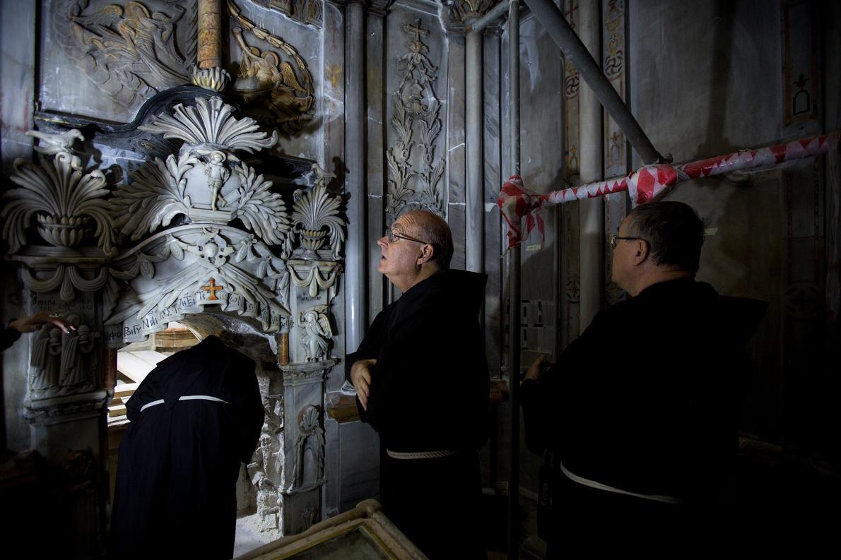 Sacerdotes franciscanos