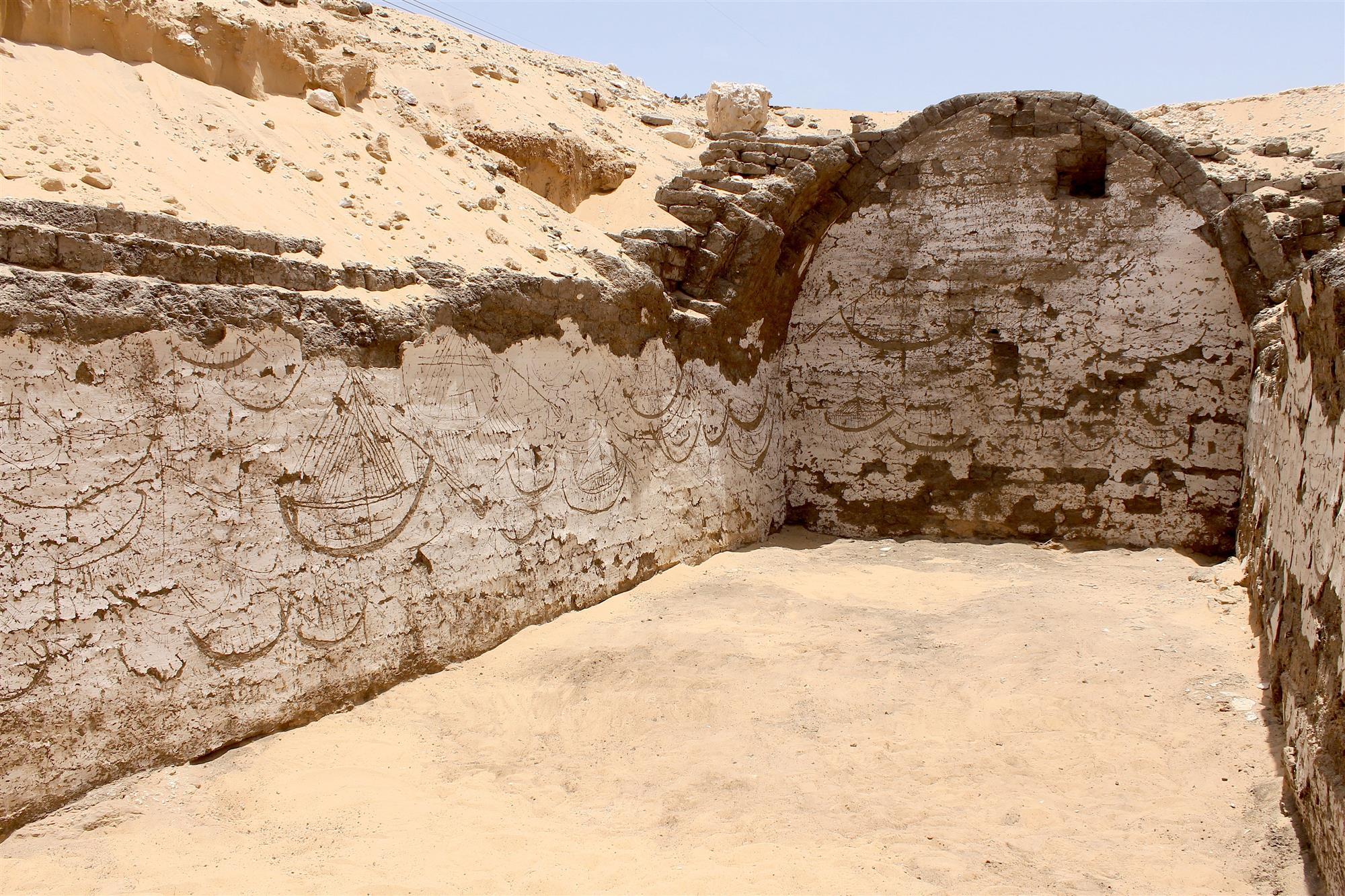 Edificio para una barca funeraria (Egipto)