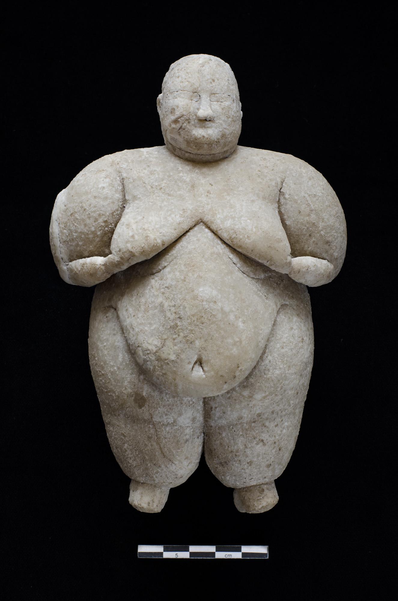 Estatuilla neolítica de 8.000 años de antigüedad (Turquía)