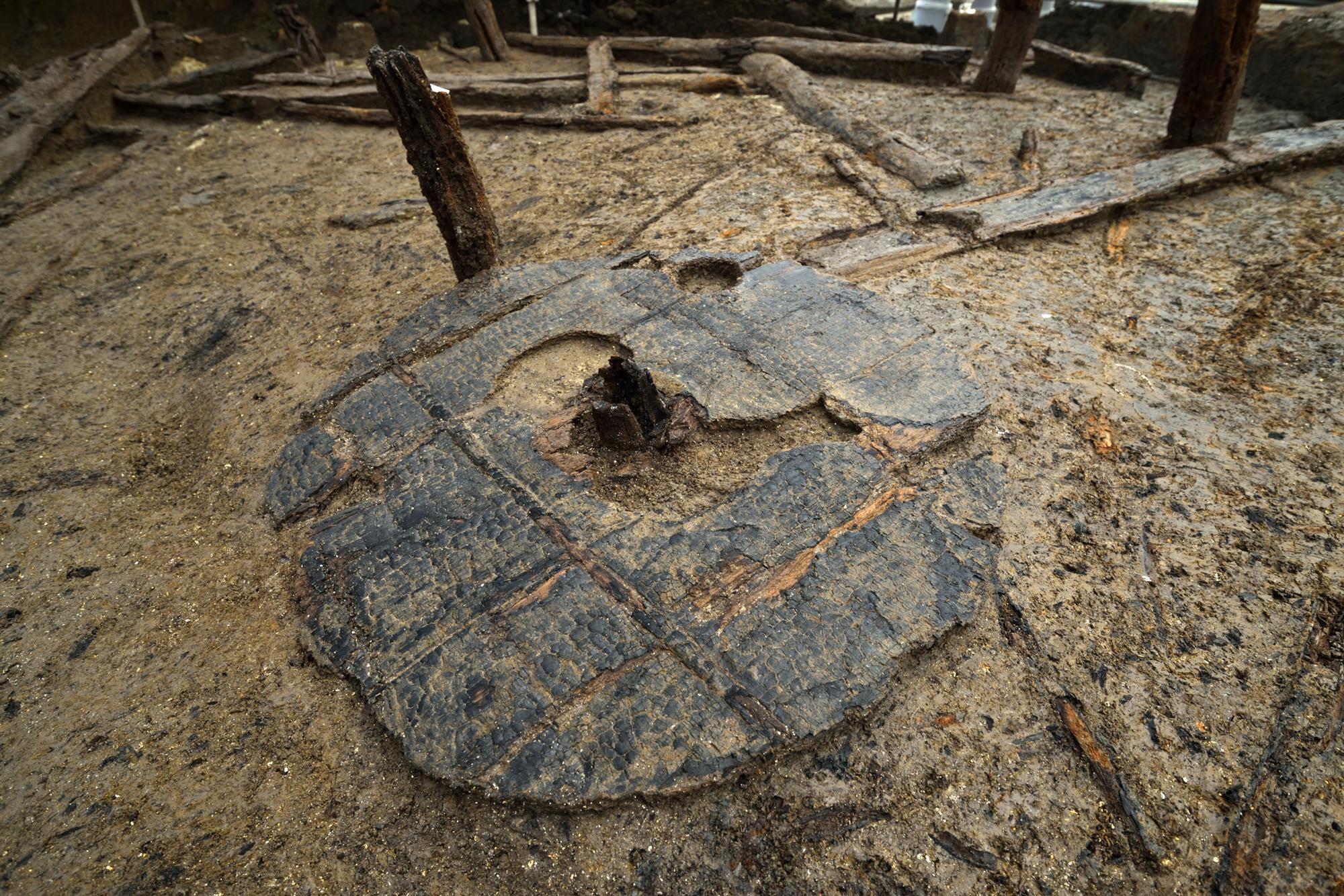 Un asentamiento intacto de la Edad del Bronce (Inglaterra)