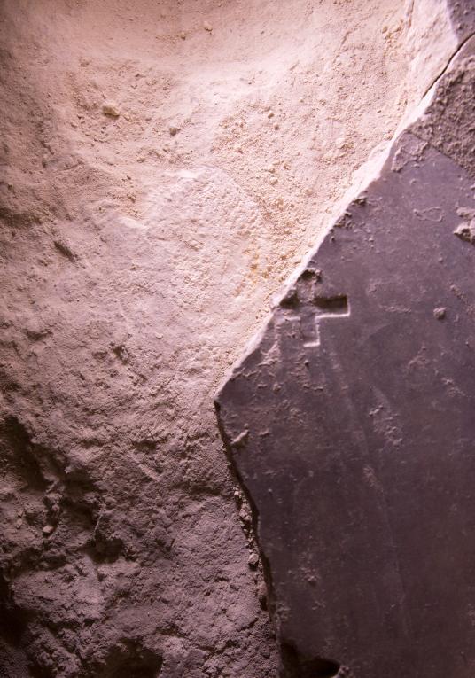 Excavaciones en la supuesta tumba de Cristo (Israel)