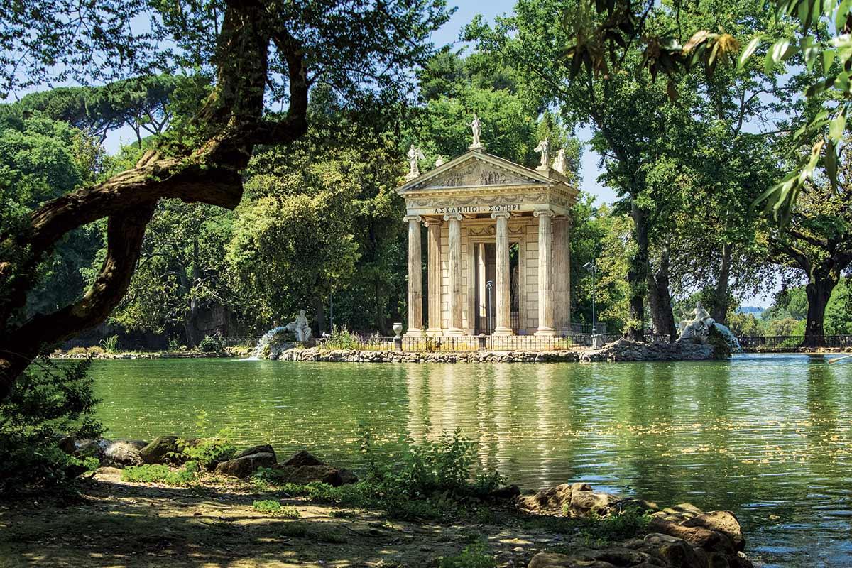 Villa borghese el jard n de roma for Jardin de la villa