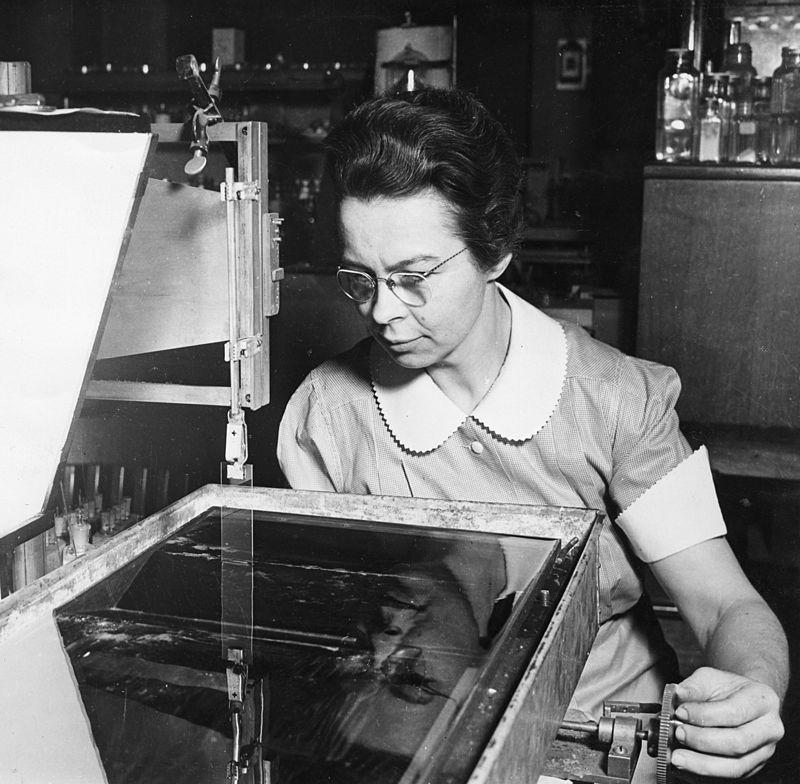 Katharine Blodgett - Cristales anti reflectantes