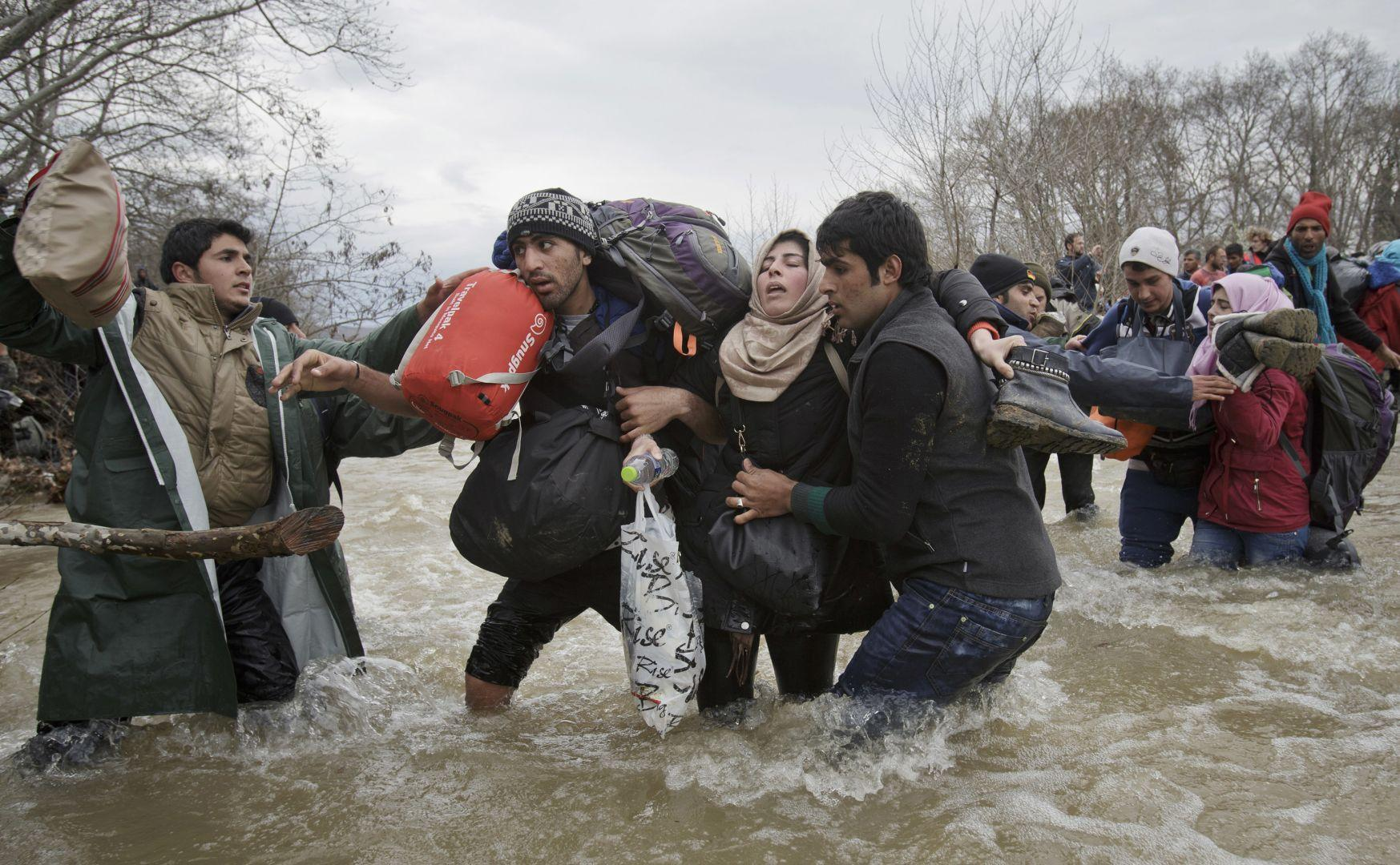 """Migrant Crossing"""