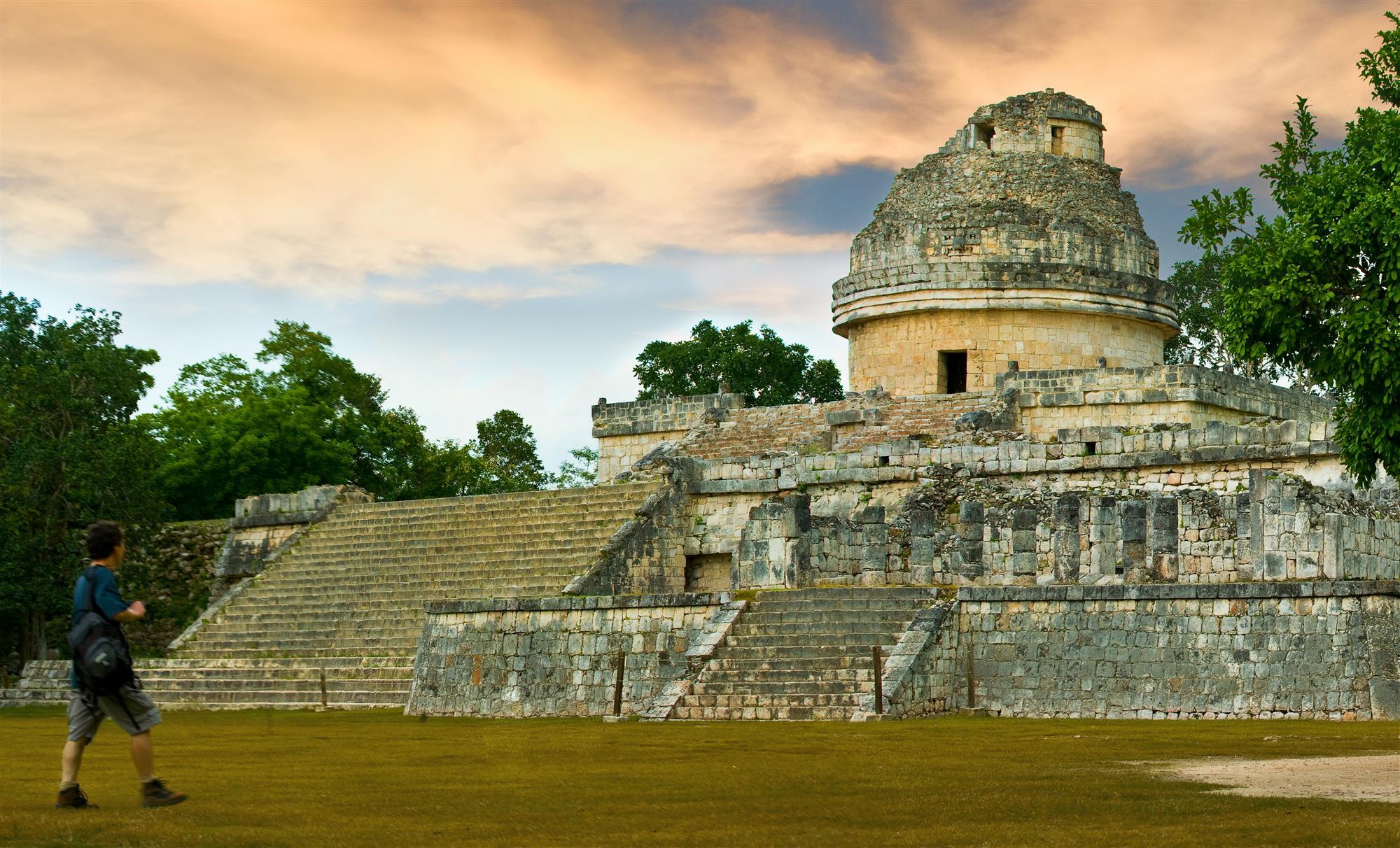 observatorio. Observatorio de Chichén Itzá