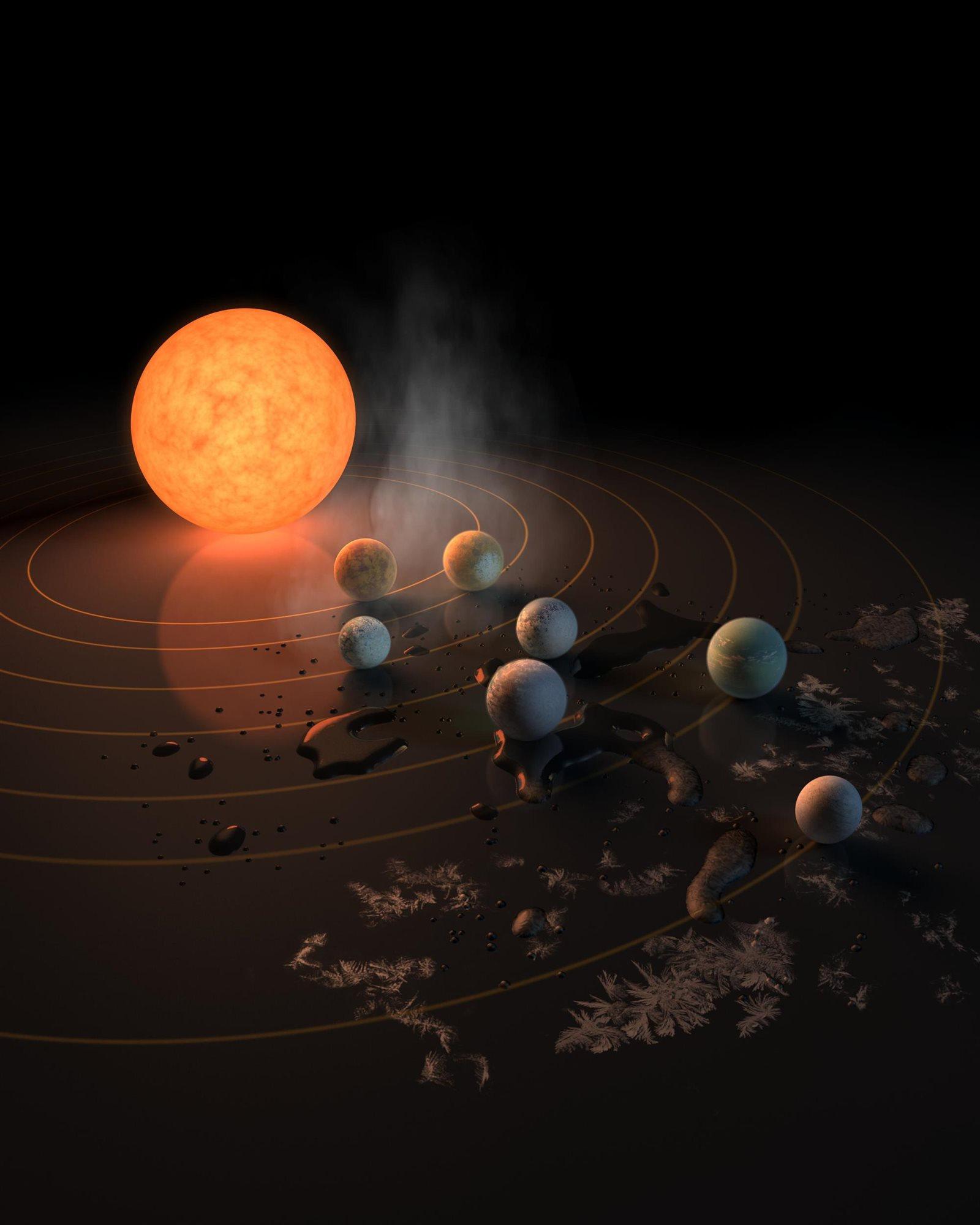 Resultado de imagen de Descubren nuevos mundos como la Tierra