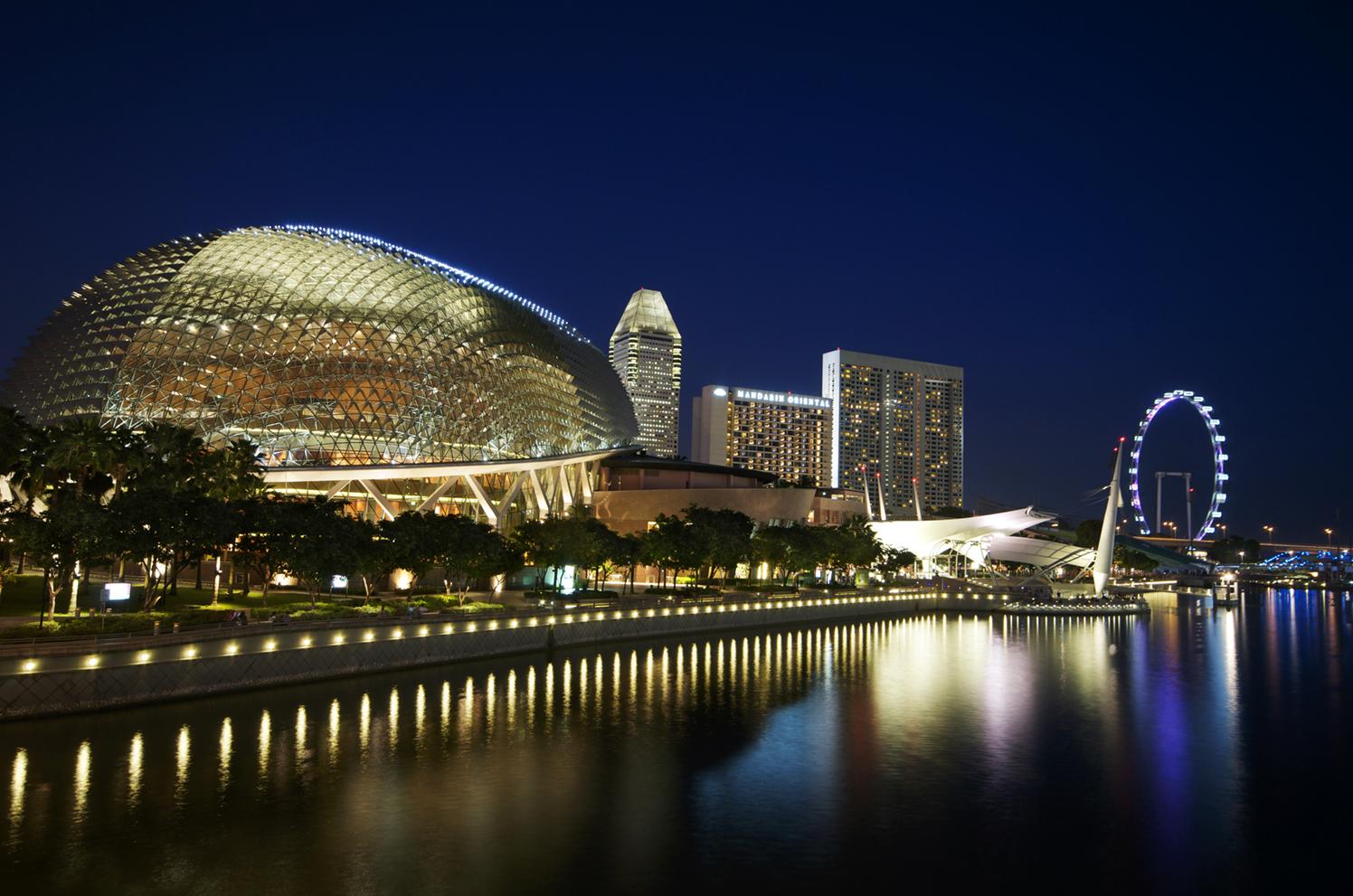 Esplanada - Teatros en la Bahía, Singapur