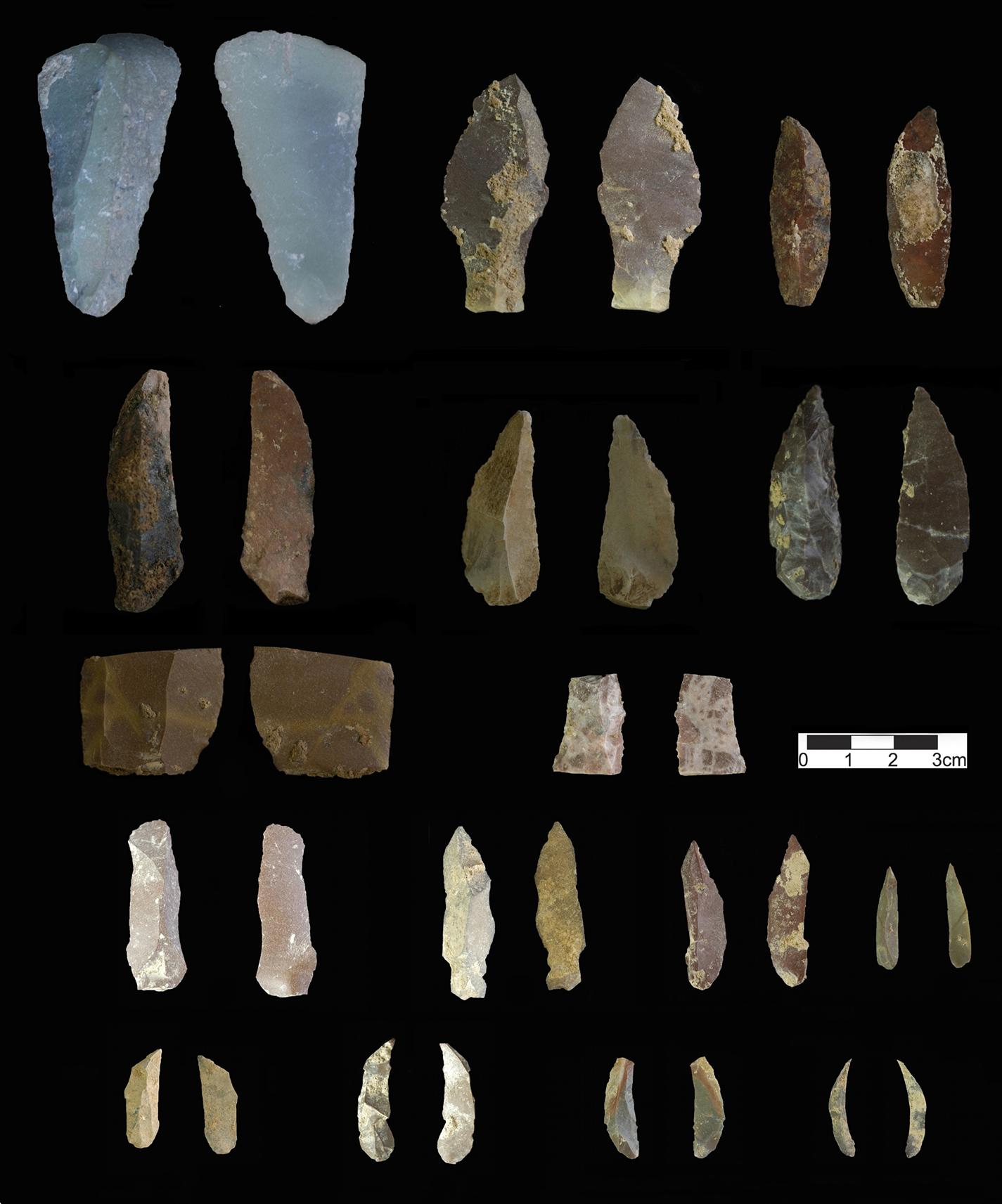 Hallan herramientas de los primeros humanos modernos en una cueva ...