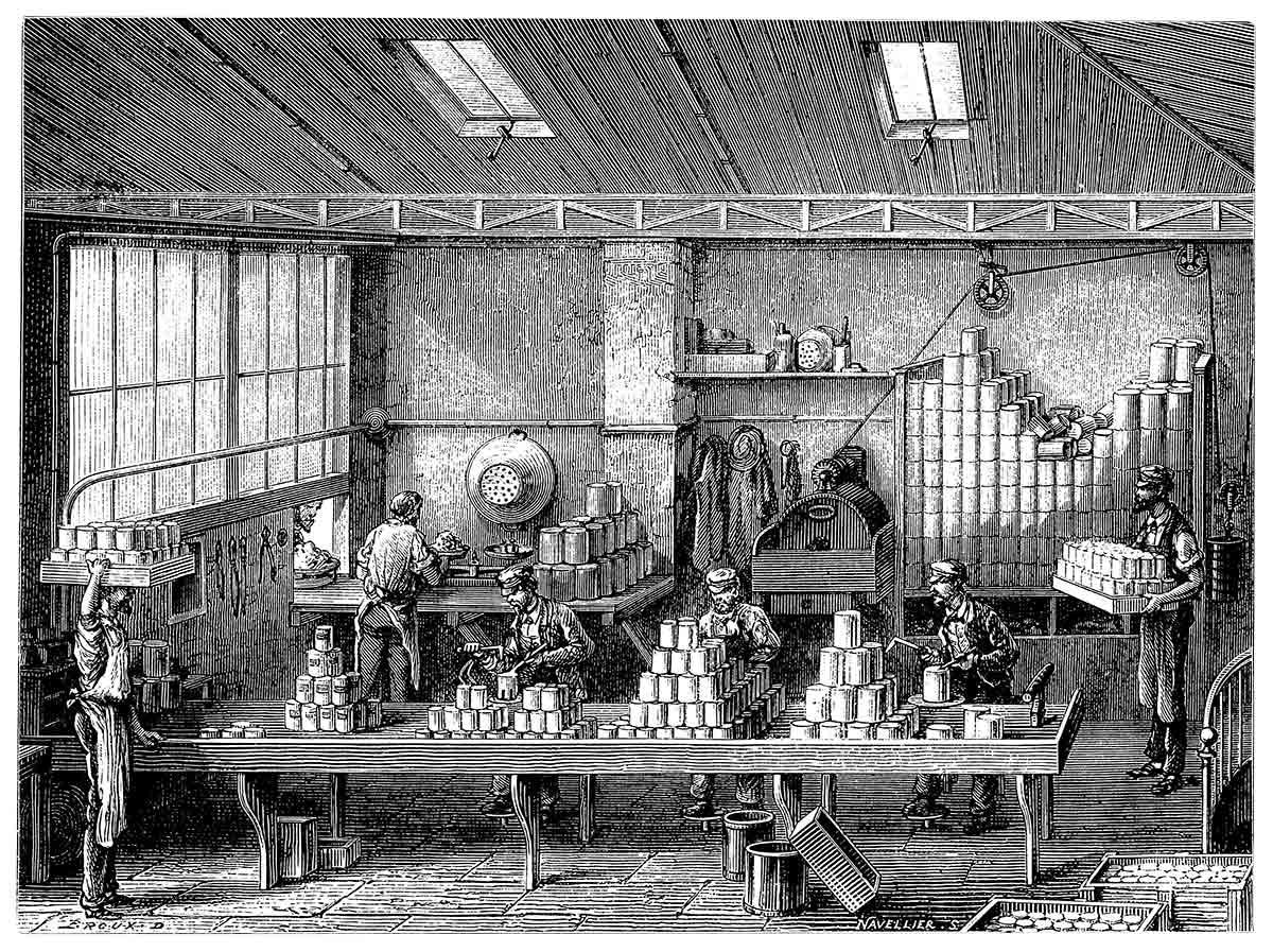 La lata de conserva: nace la dieta industrial