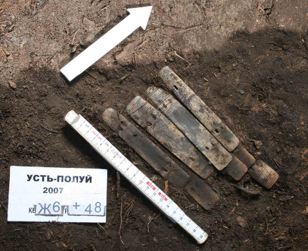 Estas piezas milenarias proceden de la armadura de un guerrero siberiano