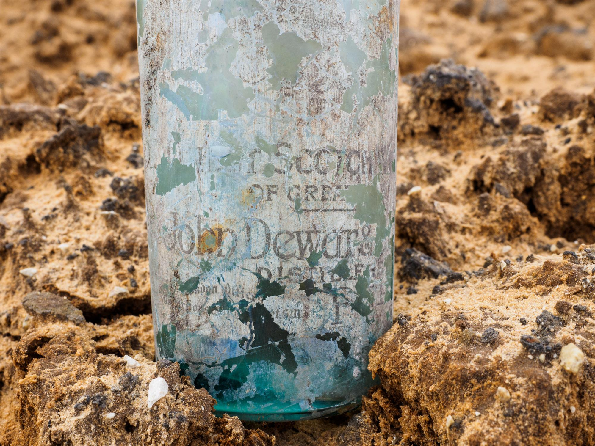 Botella de Dewar's
