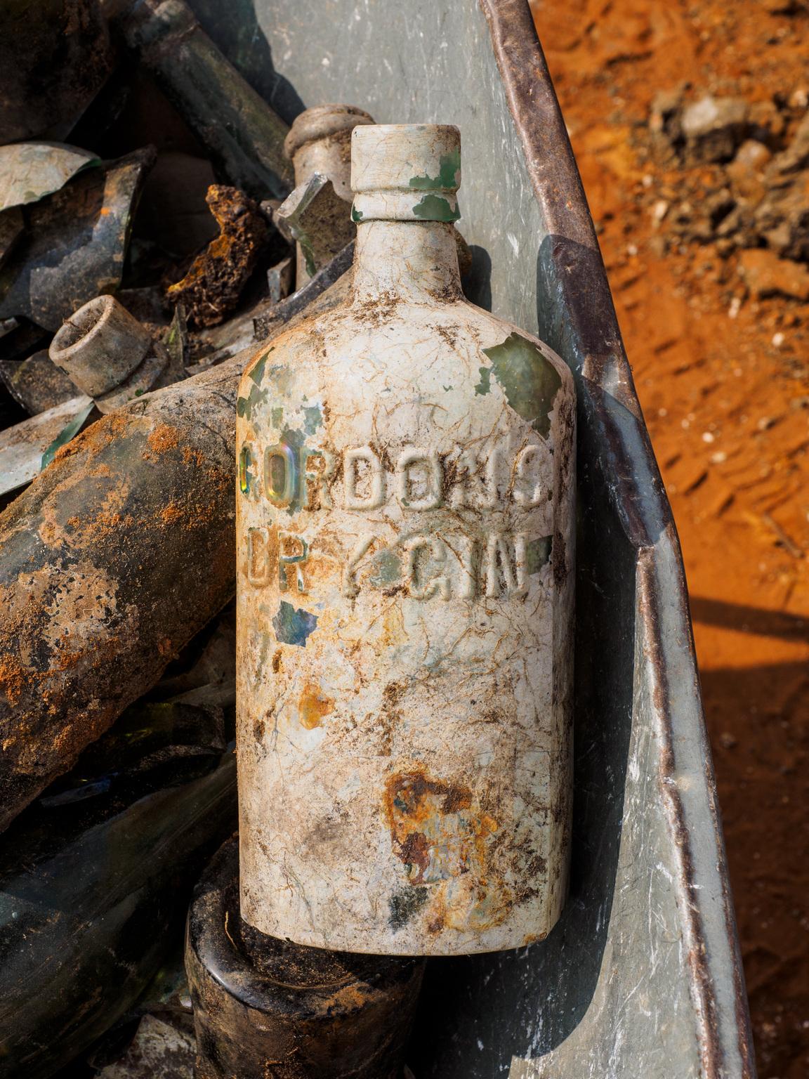 Botella de Gordon's
