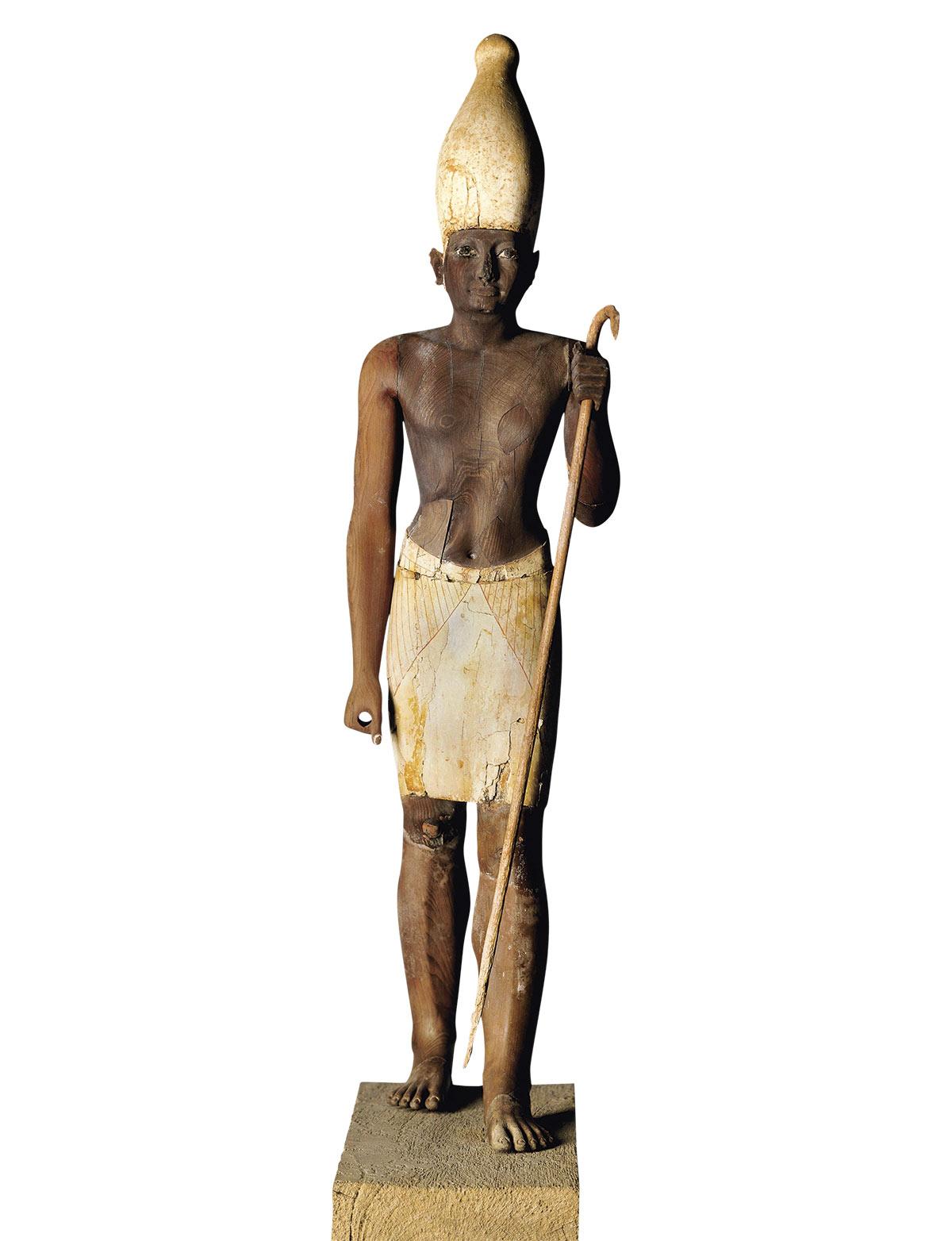 DA07376D. Estatuilla de Sesostris I