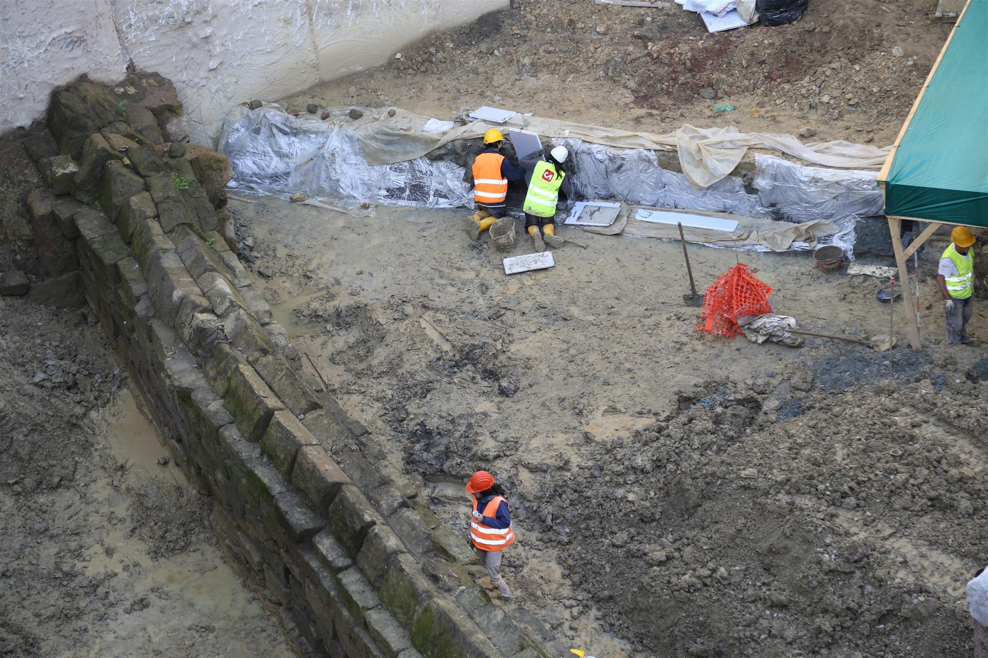 Tramo excavado