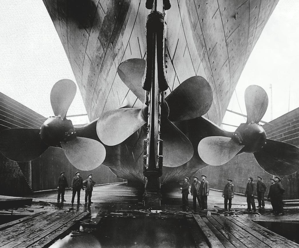 La construcción del gigante. La construcción de Titanic