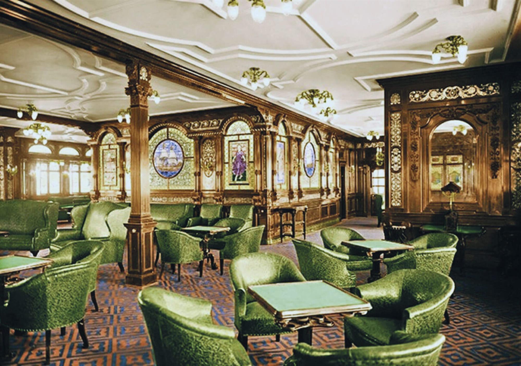 El Titanic: un hotel de lujo flotante