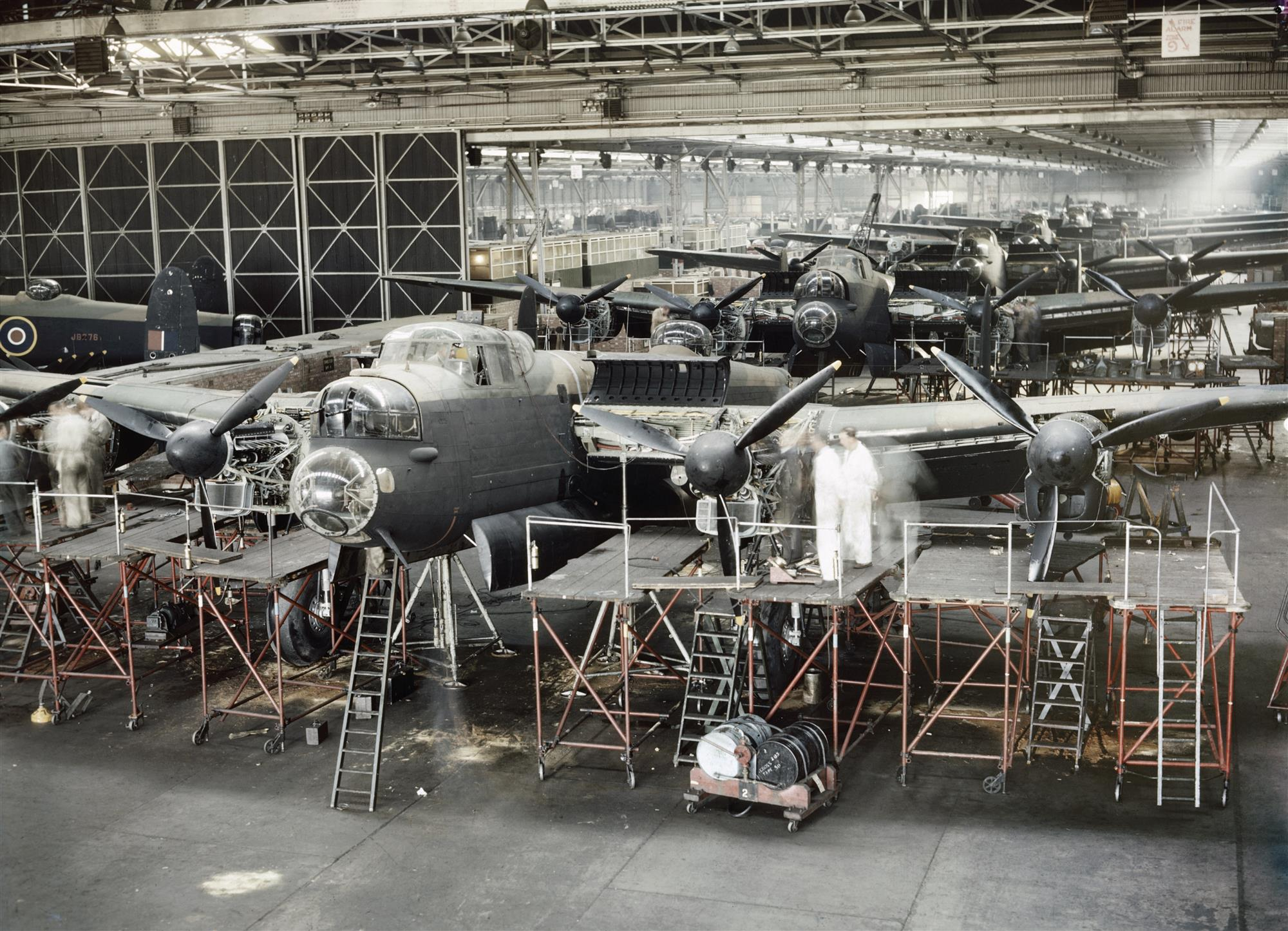Fabricación de bombarderos