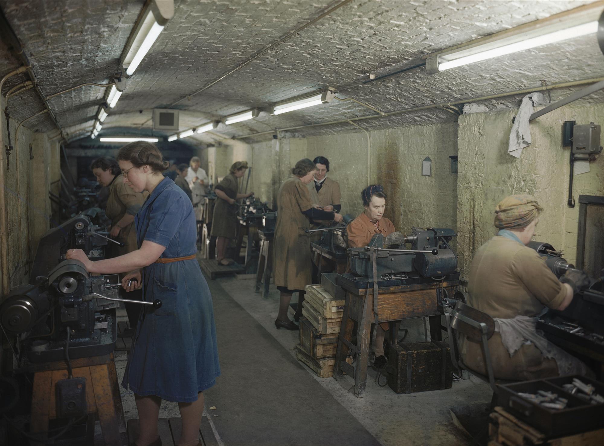 Fábrica subterránea de munición
