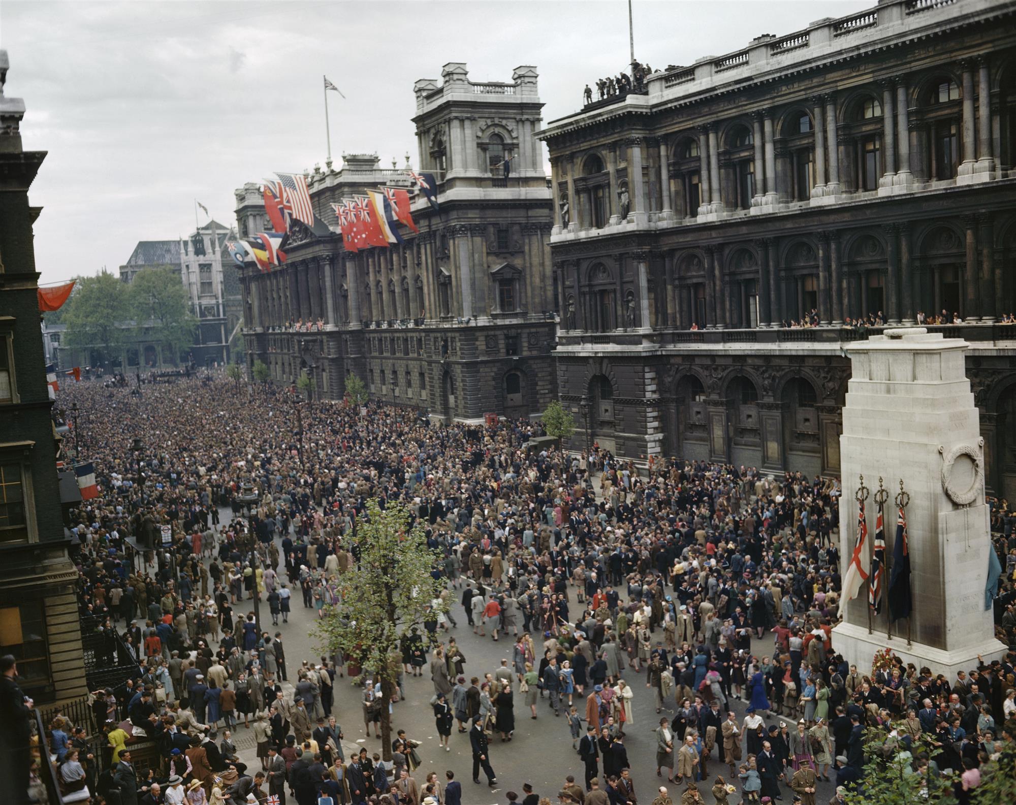 Celebrando el Día de la Victoria en Europa